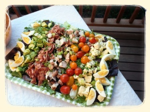 Cobb Salad.  Really, really good Cobb Salad.  Ah, summer.