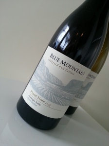 Blue Mountain Pinot Noir 2013
