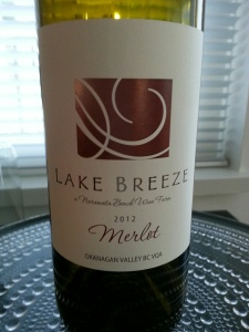 Lake Breeze Vineyards Merlot, 2012