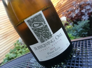 Burrowing Owl Pinot Gris 2014