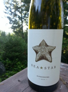 Sea Star Vineyards Siegerrebe, 2014