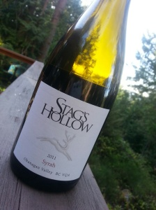 Stags Hollow Syrah 2011