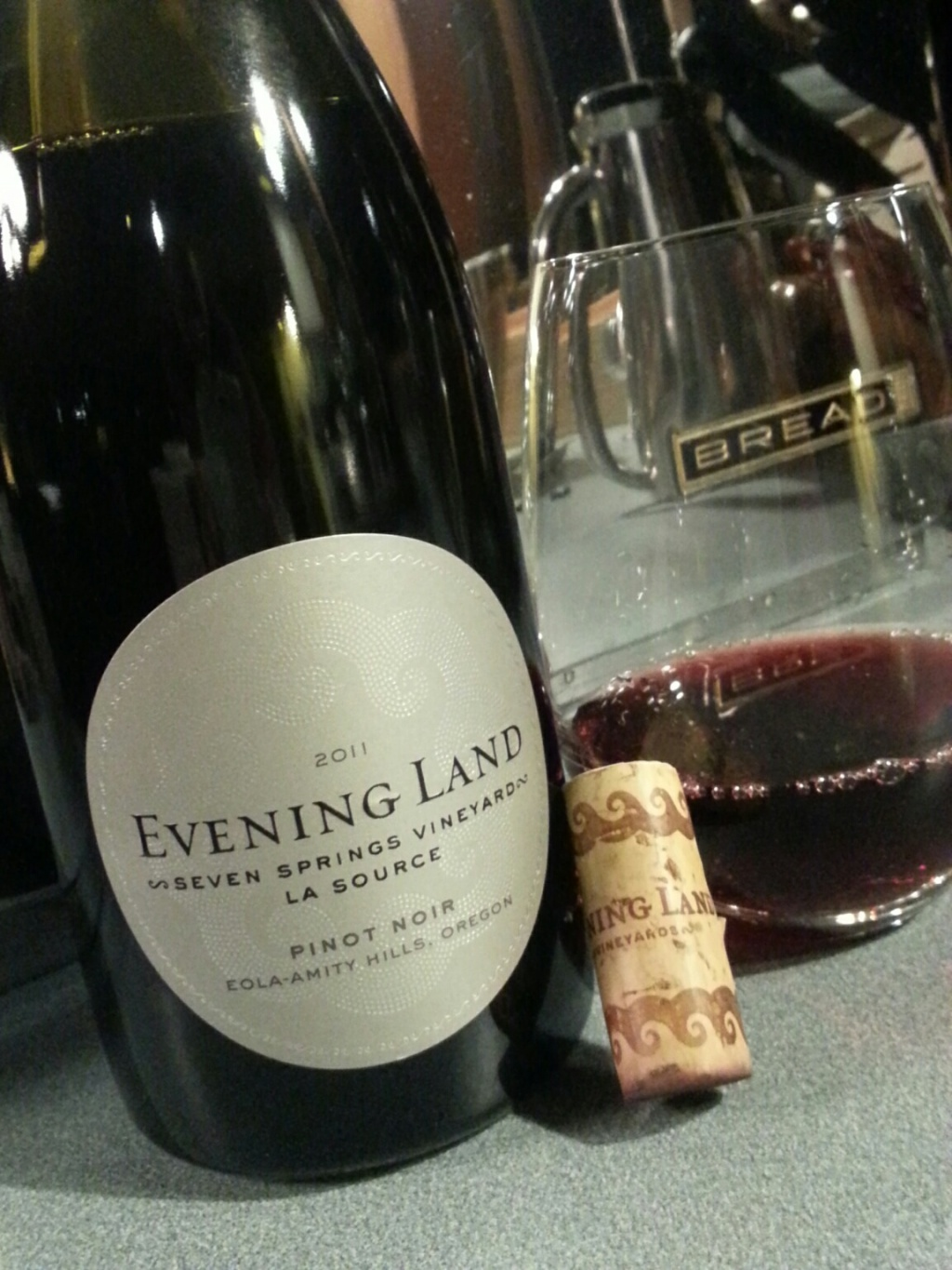 Evening Land Seven Springs Pinot Noir, 2011