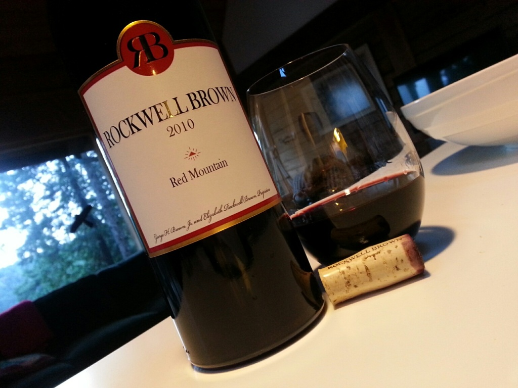 Rockwell-Brown Bordeaux Blend Red Mountain 2010