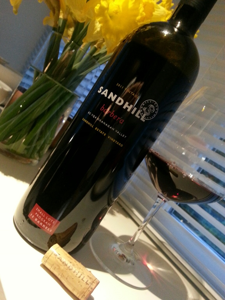 Sandhill Small Lots Barbera, 2011
