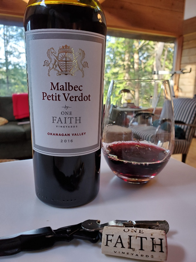 One Faith Vineyard Malbec Petit Verdot, 2016