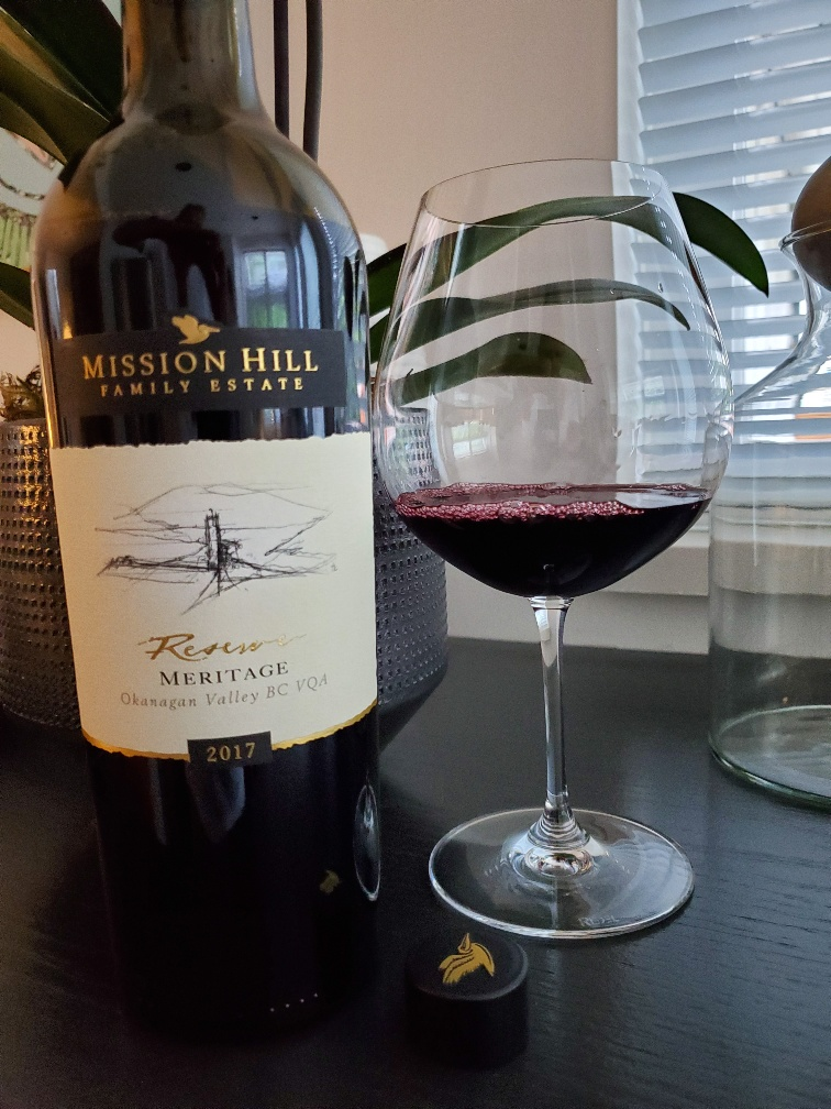 Mission Hill Reserve Meritage, 2017