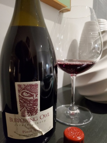 Burrowing Owl Pinot Noir, 2017