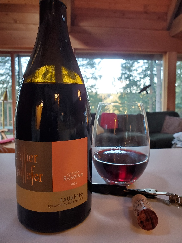 Domaine Ollier Taillefer Faugeres, 2015
