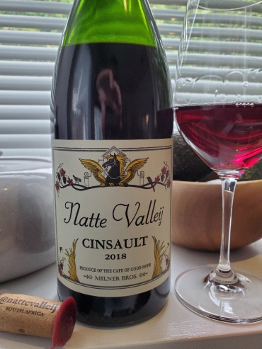 Natte Valley Cinsault, 2018